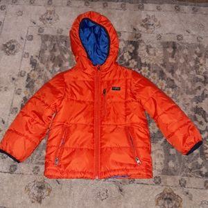 OSHKOSH Orange Jacket    Size 4